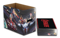 Image: Marvel Short Comic Storage Box: All New Avengers  (5-Pack) - Wizkids/Neca