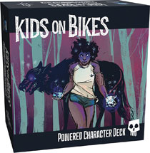 Image: Kids on Bikes RPG: Powered Character Deck  - Renegade Game Studio