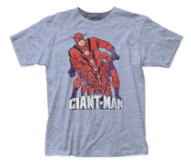 Image: Giant-Man T-Shirt: Growing [Heather Blue]  (M) - Impact Merchandising
