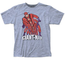 Image: Giant-Man T-Shirt: Growing [Heather Blue]  (XL) - Impact Merchandising
