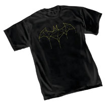 Image: Batman T-Shirt: Vector Symbol  (S) - Graphitti Designs