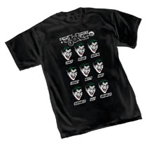 Image: Joker T-Shirt: Moods  (S) - Graphitti Designs