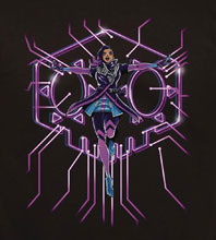 Image: Overwatch T-Shirt: Hack the World  (L) - Jinx Inc