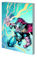 Image: Marvel Adventures Thor Featuring Captain America, Dr. Strange & Ant Man Digest  - Marvel Comics