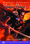 Image: Vampire Hunter D Vol. 03 SC  - Digital Manga Distribution