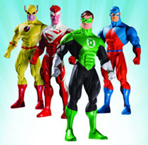 Image: JLA Classified Classic Series 3 Action Figure set  (4) -
