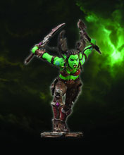 Image: World of Warcraft Series 7 Action Figure: Orc Rogue  -