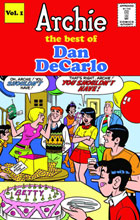 Image: Archie: The Best of Dan Decarlo Vol. 01 HC  - IDW Publishing