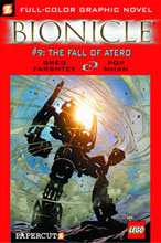 Image: Bionicle Vol. 09: Fall of Atero SC  - Papercutz