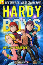 Image: Hardy Boys Vol. 20: Deadly Strategy SC  - Papercutz
