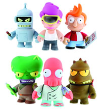 Image: Futurama Mini-Figure 16-Piece Bmb Disp  -
