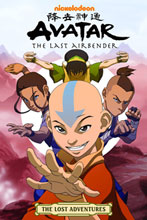Image: Nickelodeon's Avatar the Last Airbender: Lost Adventures SC  - Dark Horse