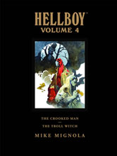 Image: Hellboy Vol. 04: Crooked Man and the Troll Witch HC  - Dark Horse