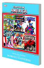 Image: Captain America: Official Index to the Marvel Universe SC  - Marvel Comics