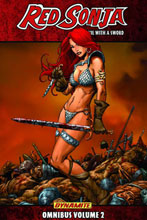 Image: Red Sonja Omnibus Vol. 02 SC  - D. E./Dynamite Entertainment
