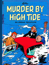 Image: Murder by High Tide HC  - Fantagraphics Books