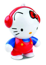Image: Headphonies: Hello Kitty Mini-Speakers  -