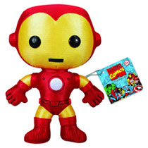 Image: Marvel Comics Plush: Iron Man  (7-inch) -