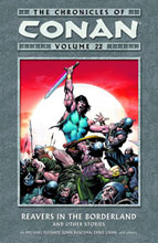 Image: Chronicles of Conan Vol. 22: Reavers in the Borderland and Other Stories SC  - Dark Horse