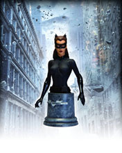 Image: Dark Knight Rises Bust: Catwoman  - DC Comics
