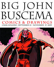 Image: Big John Buscema: Comics & Drawings HC  - IDW Publishing