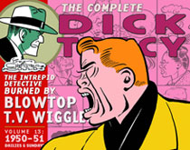 Image: Complete Chester Gould's Dick Tracy Vol. 13: 1950-1951 HC  - IDW Publishing