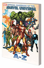 Image: Official Handbook of the Marvel Universe A to Z Vol. 05 SC  - Marvel Comics