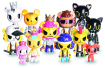 Image: Tokidoki Royal Pride Mini-Figure 16-Piece Blind Mystery Box Display  -