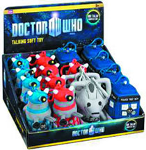 Image: Doctor Who Mini-Talking Plush 16-Piece Display  -