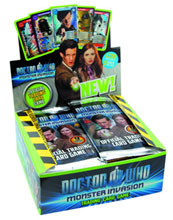 Image: Doctor Who Monster Invasion TCG Booster Display  - Immediate Media
