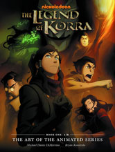 Image: Legend of Korra: The Art of the Animated Series Book One - Air HC  - Dark Horse Comics