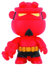 Image: Hellboy Mini-Qee  (Yellow Belt) - Dark Horse Comics