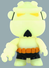 Image: Hellboy Glow in the Dark Mini-Qee  - Dark Horse Comics