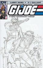 Image: G.I. Joe: A Real American Hero #190  (10-copy sketch incentive cover)