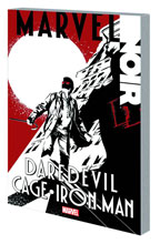 Image: Marvel Noir: Daredevil / Cage / Iron Man SC  - Marvel Comics