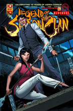 Image: Legend of the Shadow Clan #4 (Direct cover A) - Aspen MLT Inc