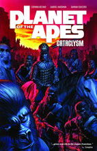 Image: Planet of the Apes: Cataclysm Vol. 01 SC  - Boom! Studios