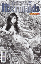 Image: Damsels: Mermaids #1  (15-copy incentive Anacleto B&W cover - 00131)