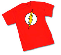 Image: Flash Symbol I T-Shirt  (L) - Dc Heroes Apparel