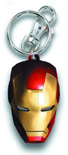 Image: AVengers Assemble Irom Man Helmet Pewter Keyring  - Marvel Heroes Collectibles & Novelties