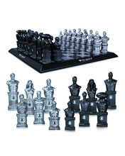 Image: Justice League Chess Set  - DC Direct