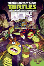 Image: Teenage Mutant Ninja Turtles: New Animated Adventures Vol. 02 SC  - IDW Publishing