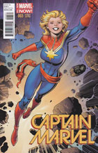 Image: Captain Marvel #3 (variant cover - Art Adams) - Marvel Comics