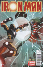 Image: Iron Man #25 (Renaud variant cover) - Marvel Comics