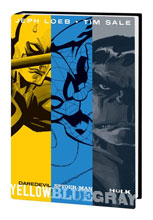 Image: Jeph Loeb and Tim Sale: Yellow, Blue and Gray HC