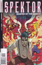 Image: Doctor Spektor: Master of the Occult #1 (100-copy incentive cover - Waid signed) - Dynamite