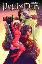 Image: Dejah of Mars #1 (Ultra-Limited Rubi Risque cover) - Dynamite