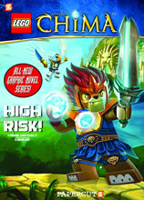Image: Lego: Legends of Chima Vol. 01 - High Risk! SC  - Papercutz