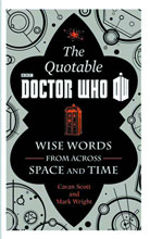 Image: Official Quotable Doctor Who: Wise Words From Across Time & Space HC  - Harper Collins Publishers