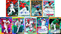Image: Topps 2014 Finest Baseball Card Outer Box  -